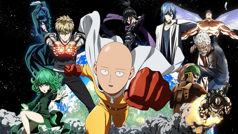 One Punch Man é um dos clássicos animes.