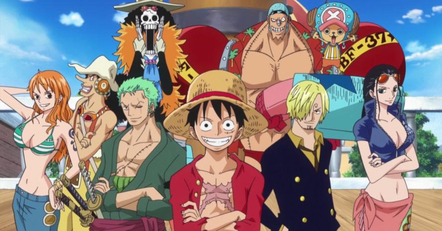 One Piece, uma das séries de Anime disponíveis na Netflix.