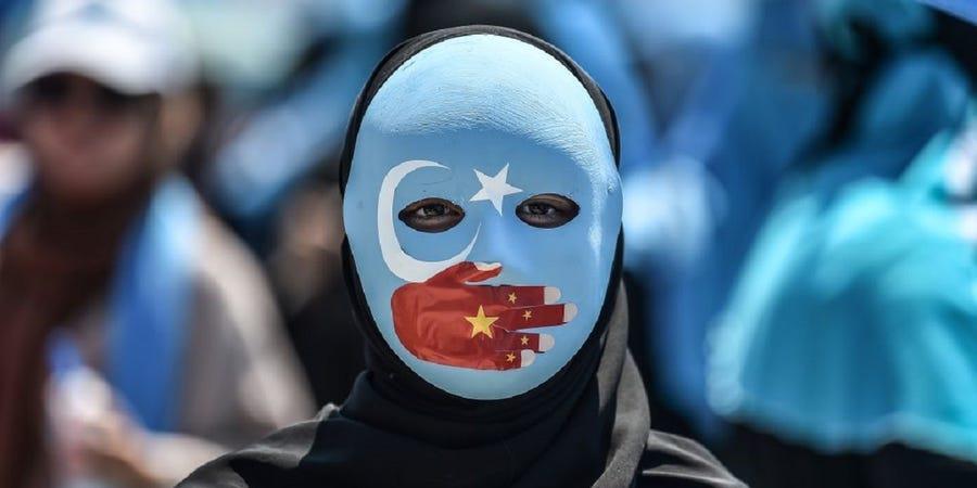 uigures campo de concentração na China