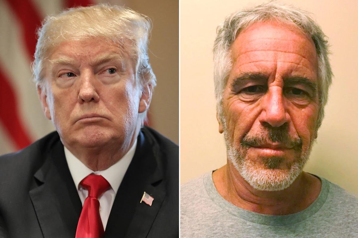 Donald Trump e Jeffrey Epstein relação
