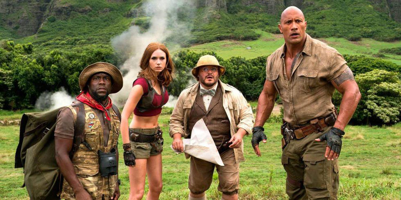 Entre os filmes disponíveis nos códigos secretos da Netflix está Jumanji: Bem-Vindo à Selva.