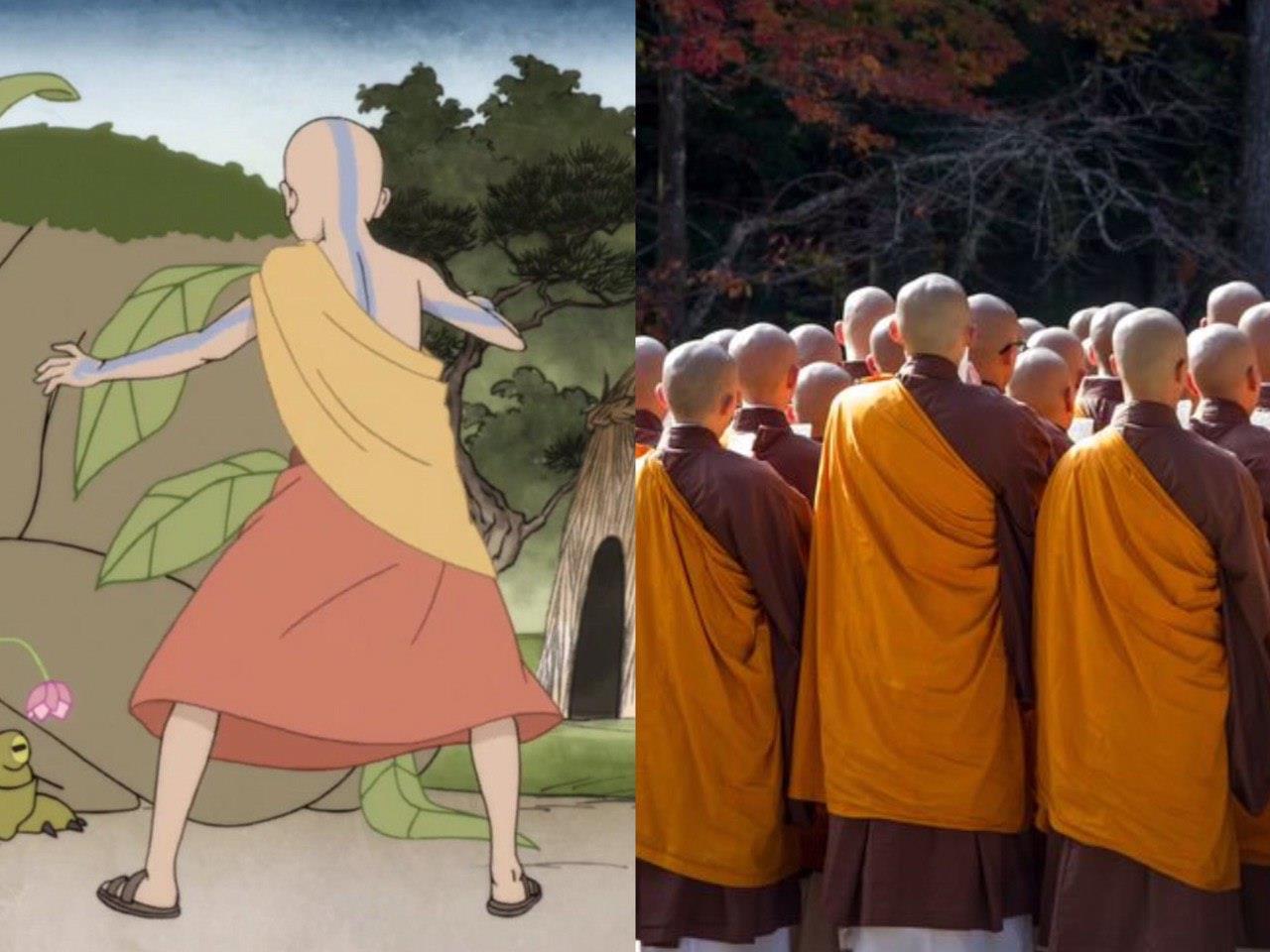 monges tibetanos avatar