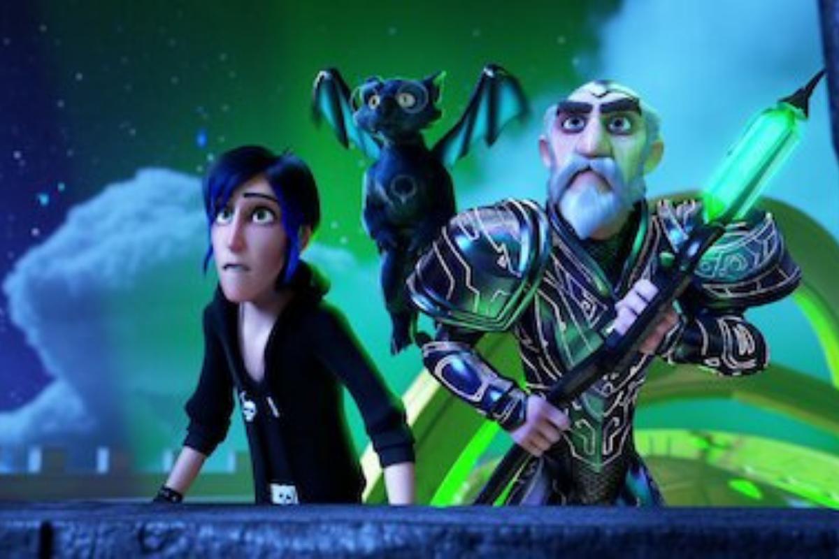 A animação Magos: Contos de Arcadia está disponível na Netflix.