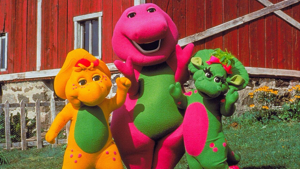 A Grande Aventura de Barney está entre os títulos encontrados na plataforma.