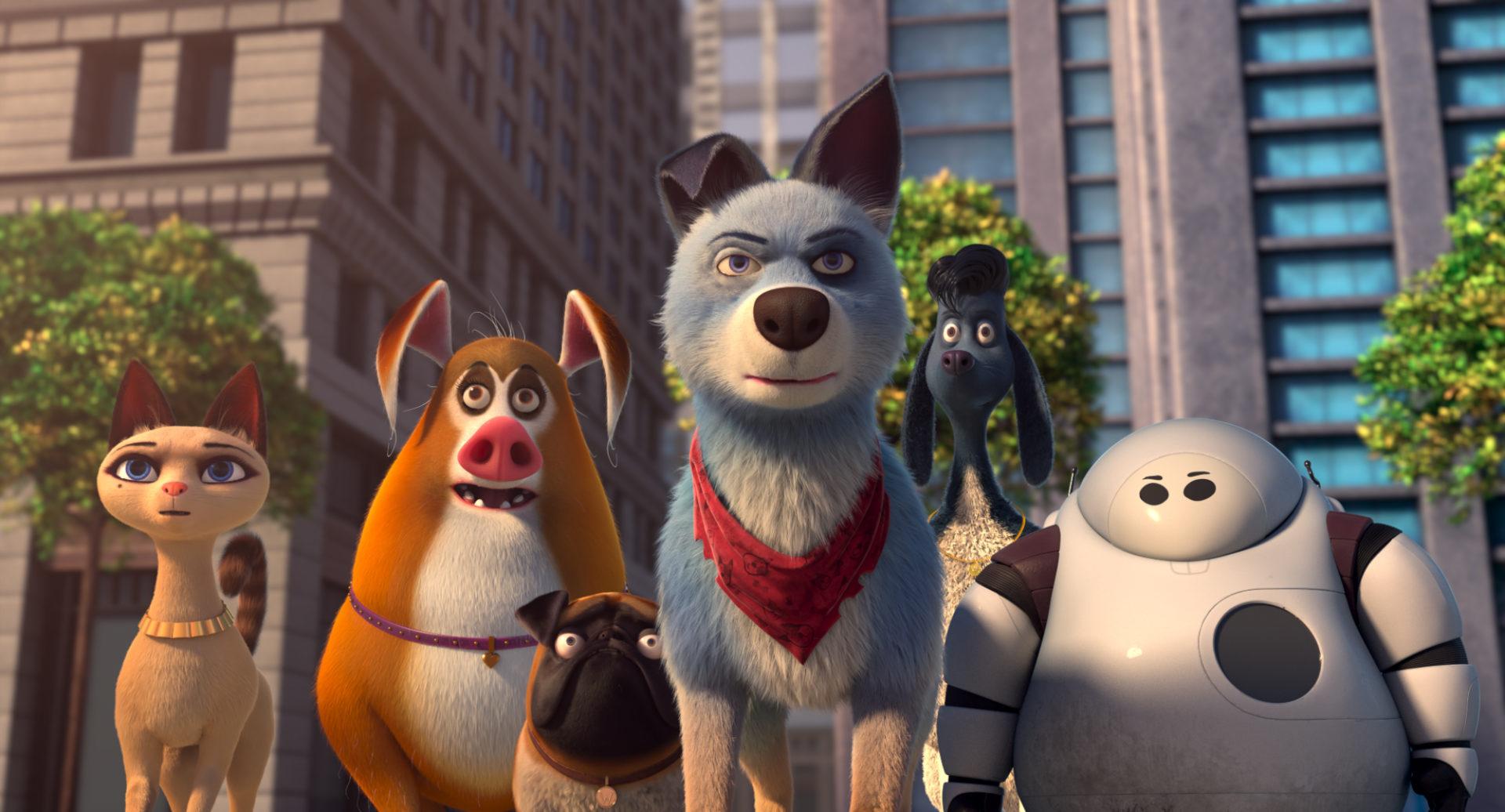Pets Unidos está disponível com os códigos secretos da Netflix.