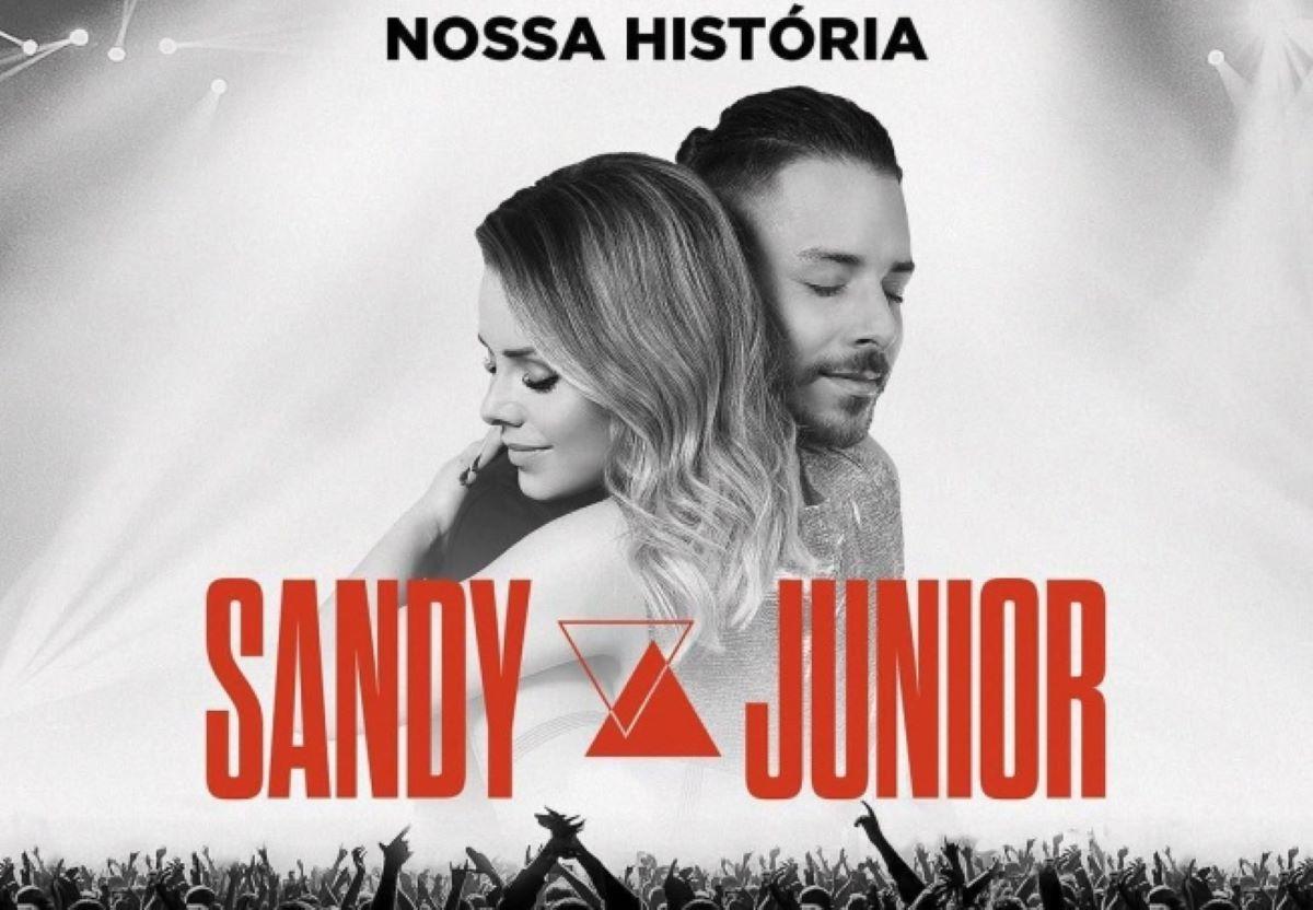 """Sandy e Junior lançam show """"Nossa História"""" em formato de álbum"""