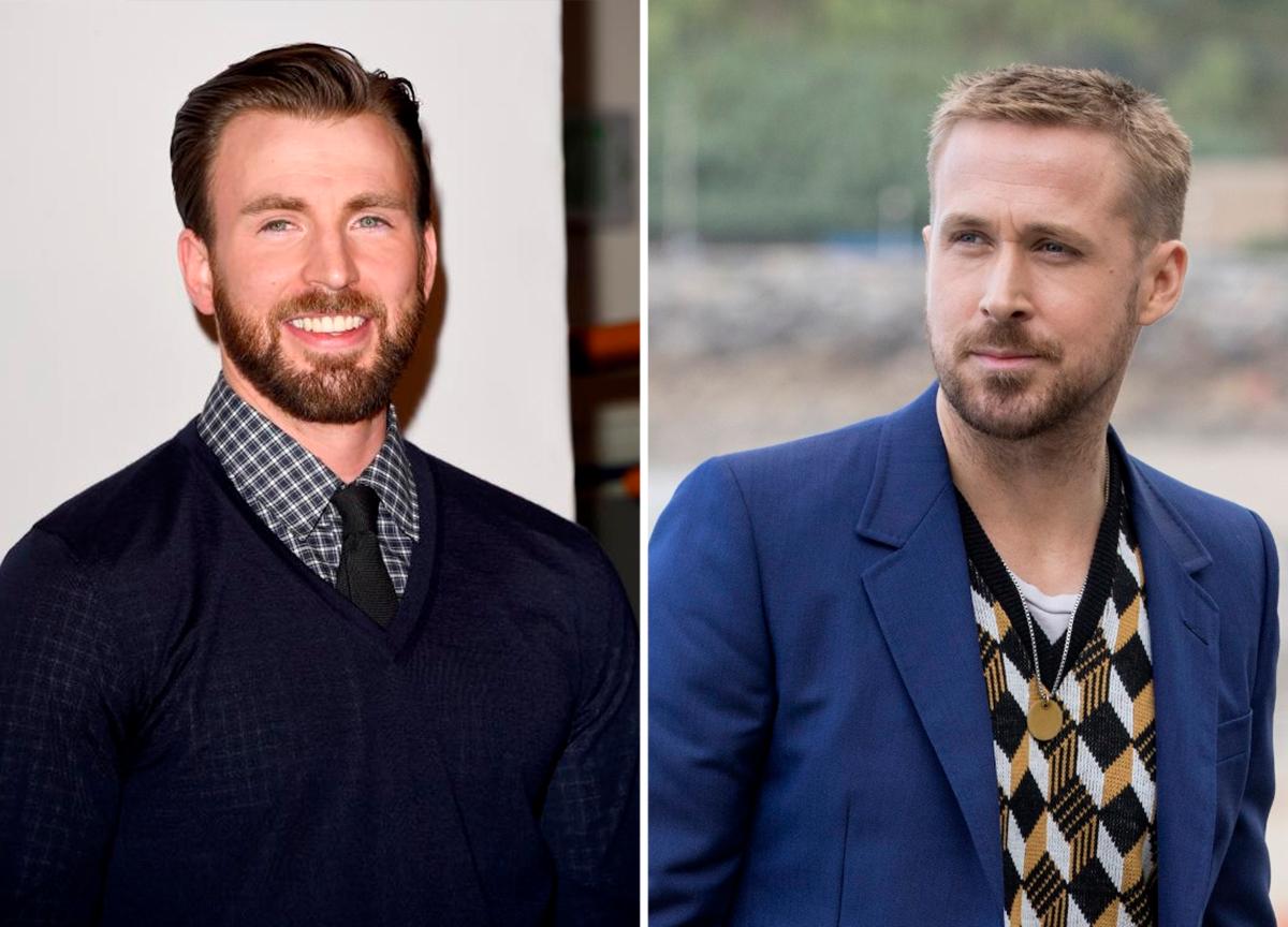 Chris Evans e Ryan Gosling no filme mais caro da história da Netflix