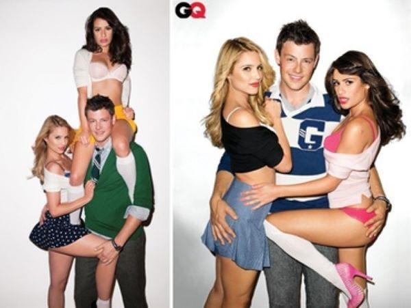 maldição de Glee