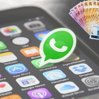 Vener pelo whatsapp