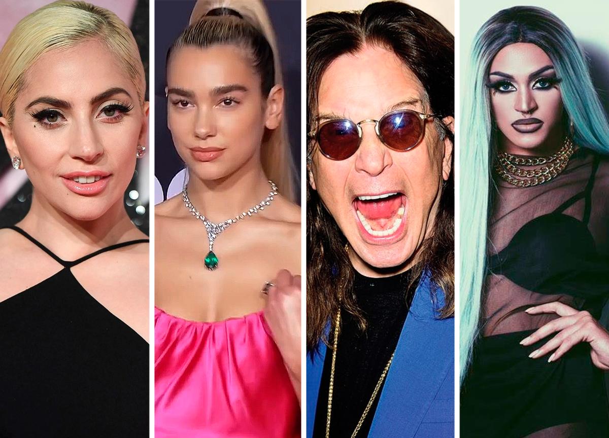 Quais artistas lançaram novos álbuns durante o primeiro semestre?