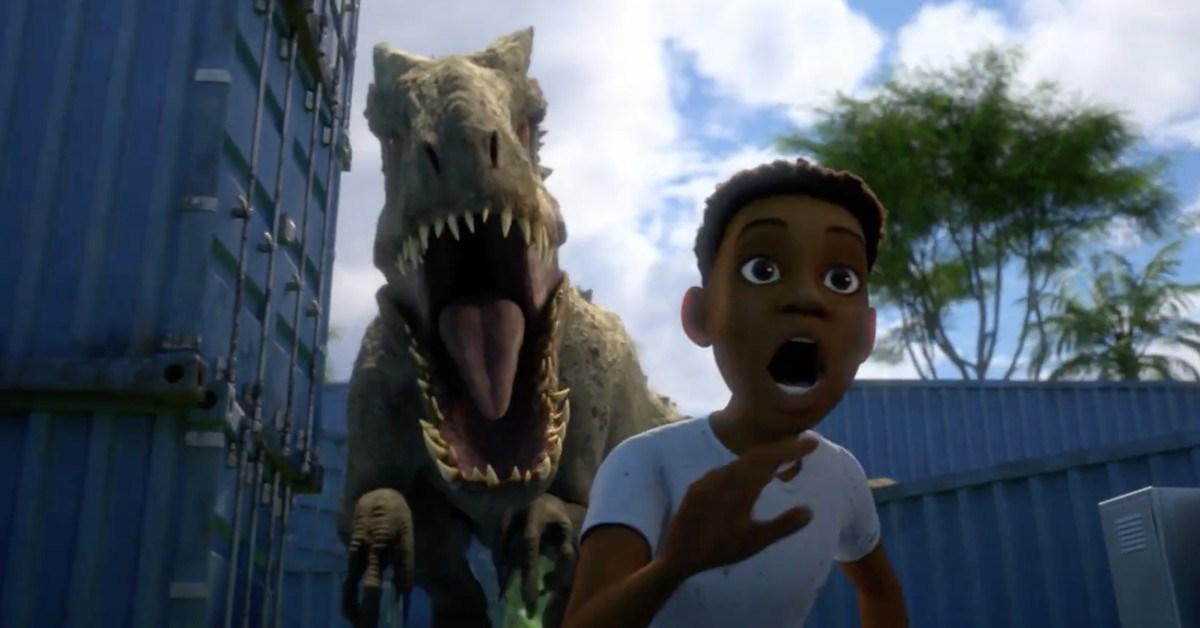 Jurassic World: Acampamento Jurássico netflix