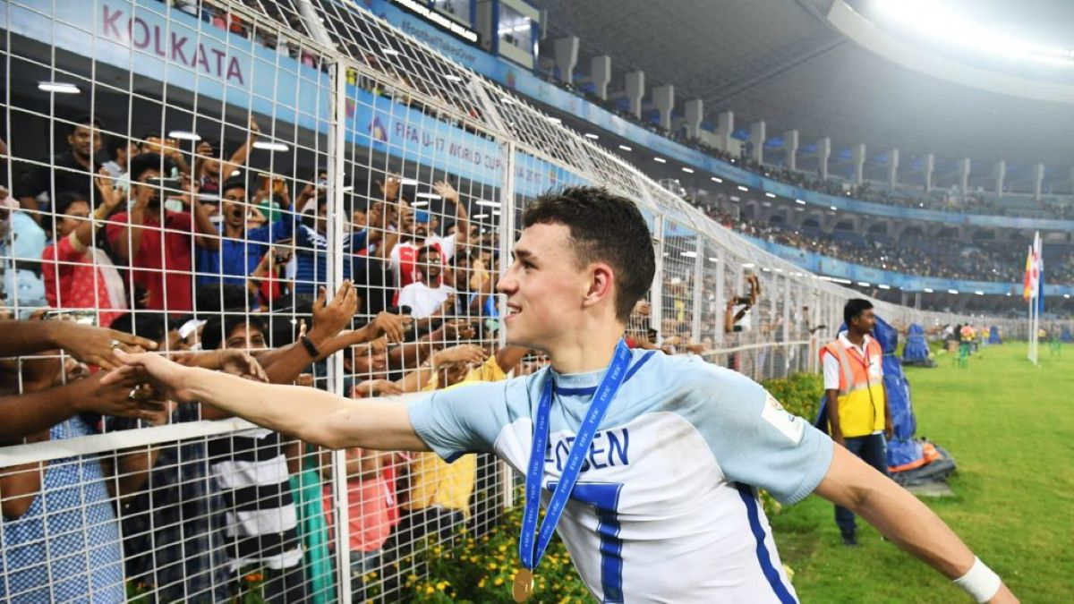 Phil Foden Copa do Mundo