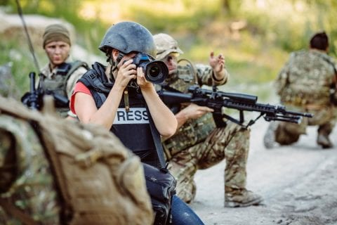 jornalista de guerra