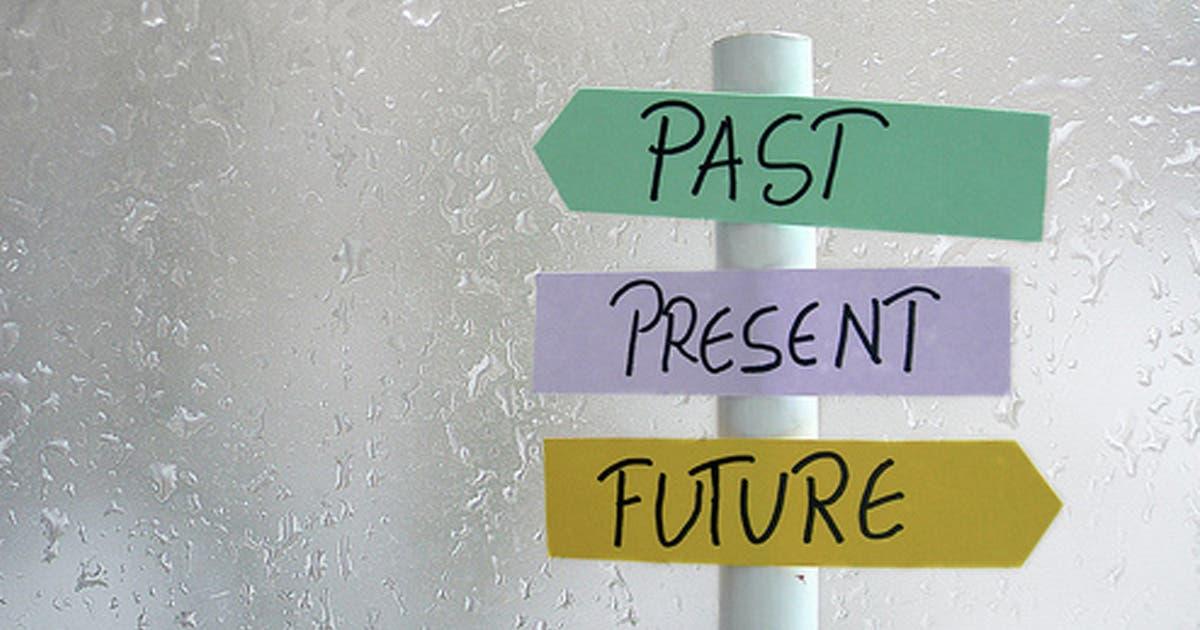 Como o passado pode influenciar o tempo presente de uma pessoa?