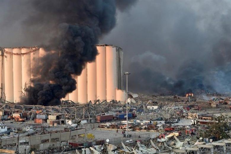 Explosão em Beirute