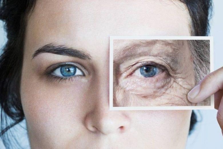 marcas de envelhecimento