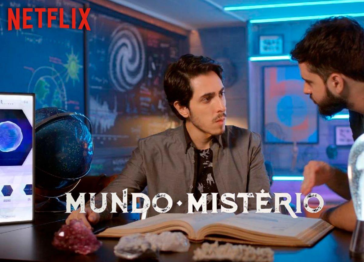 'Mundo Mistério': série de Felipe Castanhari faz referência a 'Dark'