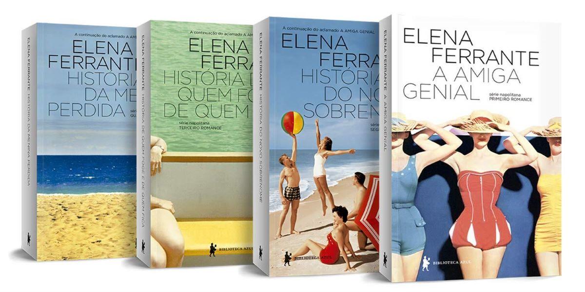 Elena Ferrante e sua literatura-espelho: Resenha da série napolitana