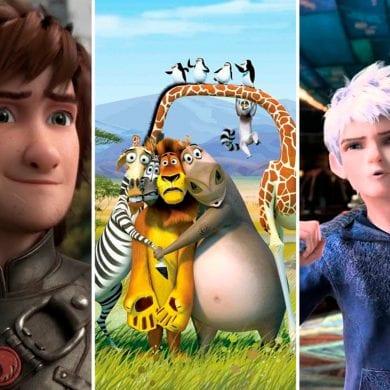 animações da DreamWorks
