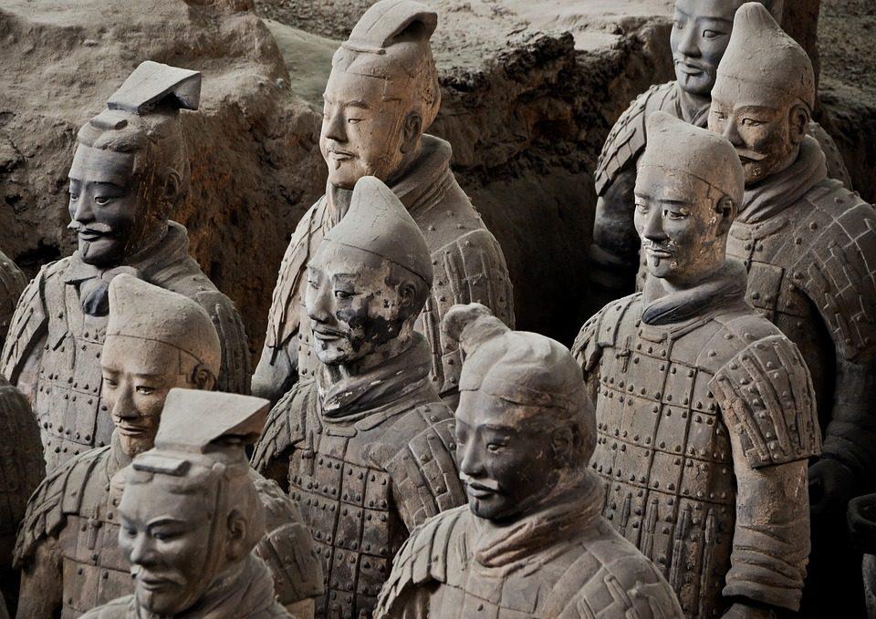 soldados chineses