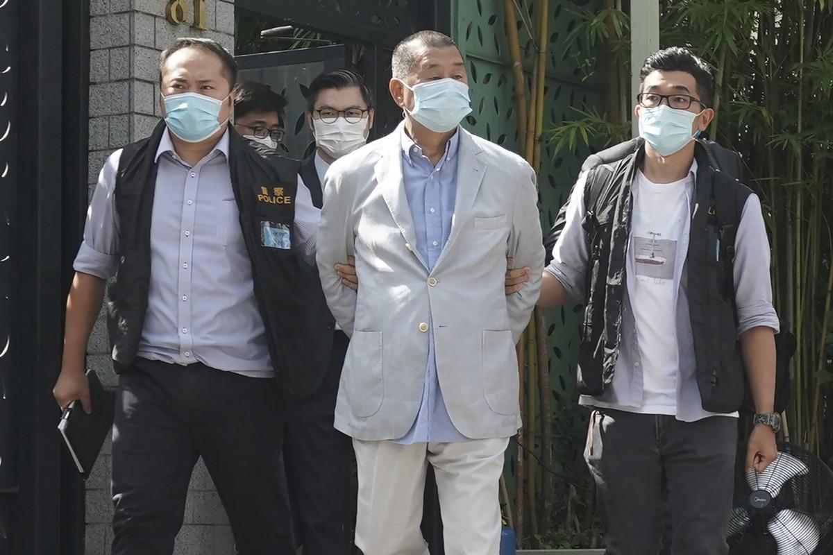 Jimmy Lai, a prisão do empresário pró-democrático de Hong Kong