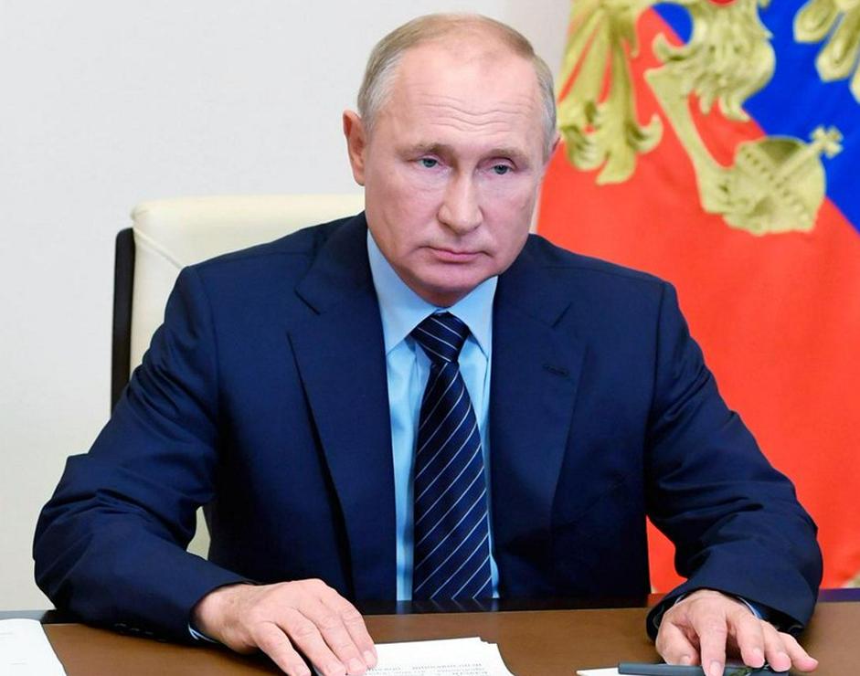 Presidente russo Vladimir Putin.