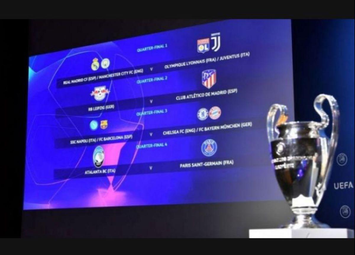 As quartas de final da Champions League começam nesta quarta