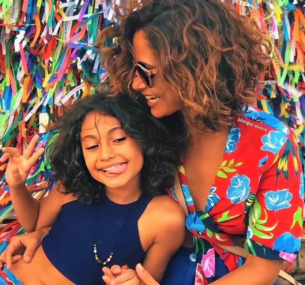 Camila Pitanga e sua filha são diagnosticadas com malária.