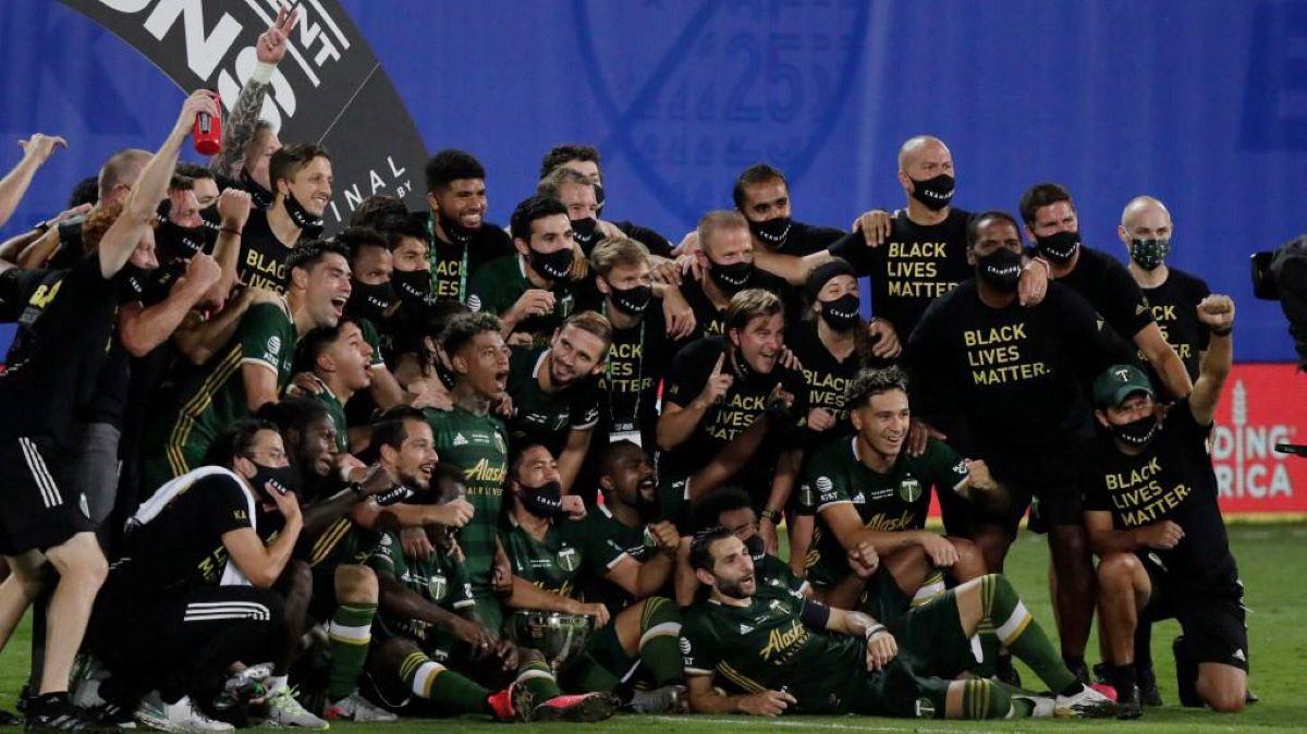 O Portland Timbers é campeão do Torneio de Retorno da MLS