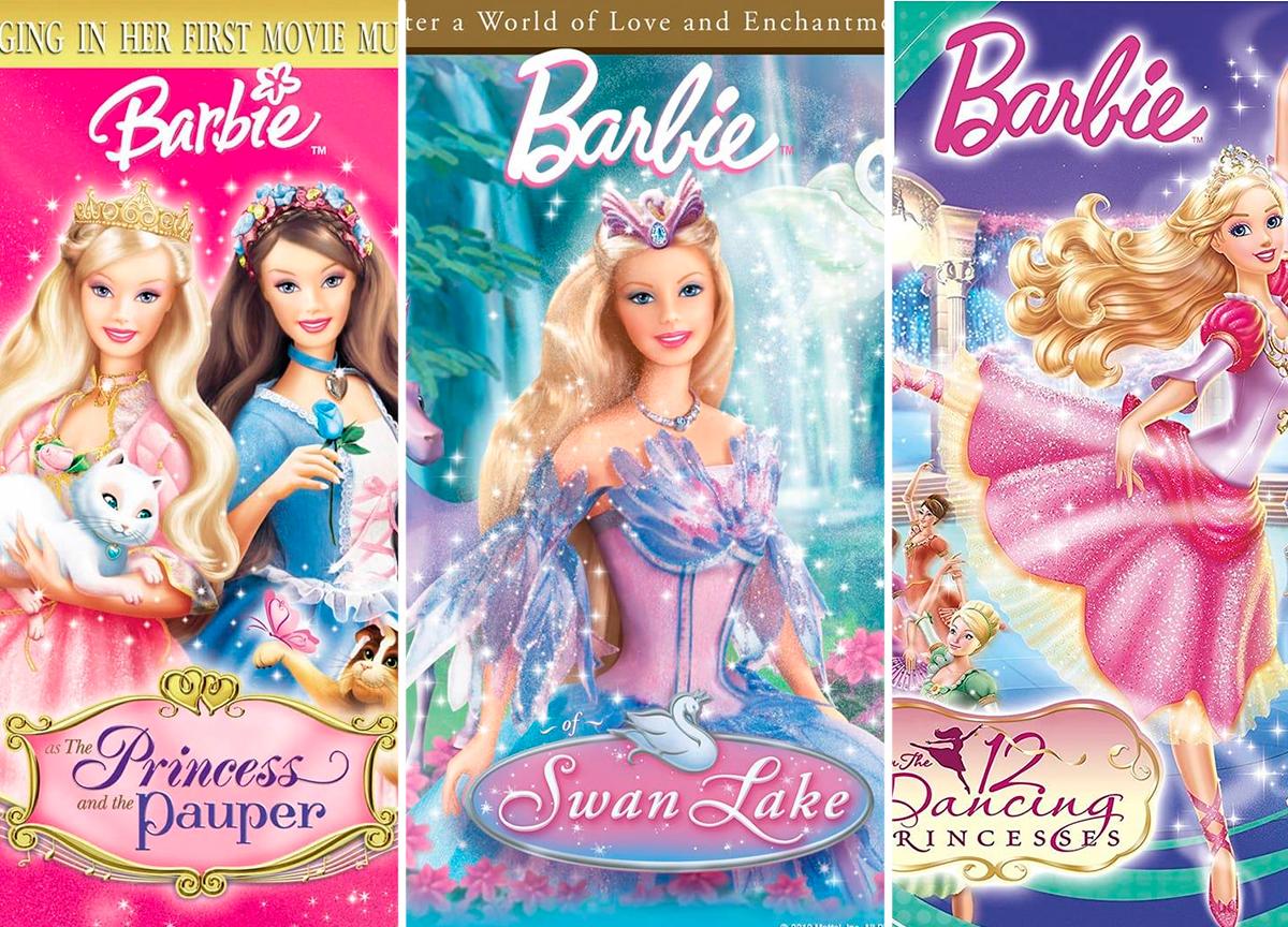 Conheça os 5 melhores filmes da Barbie de todos os tempos