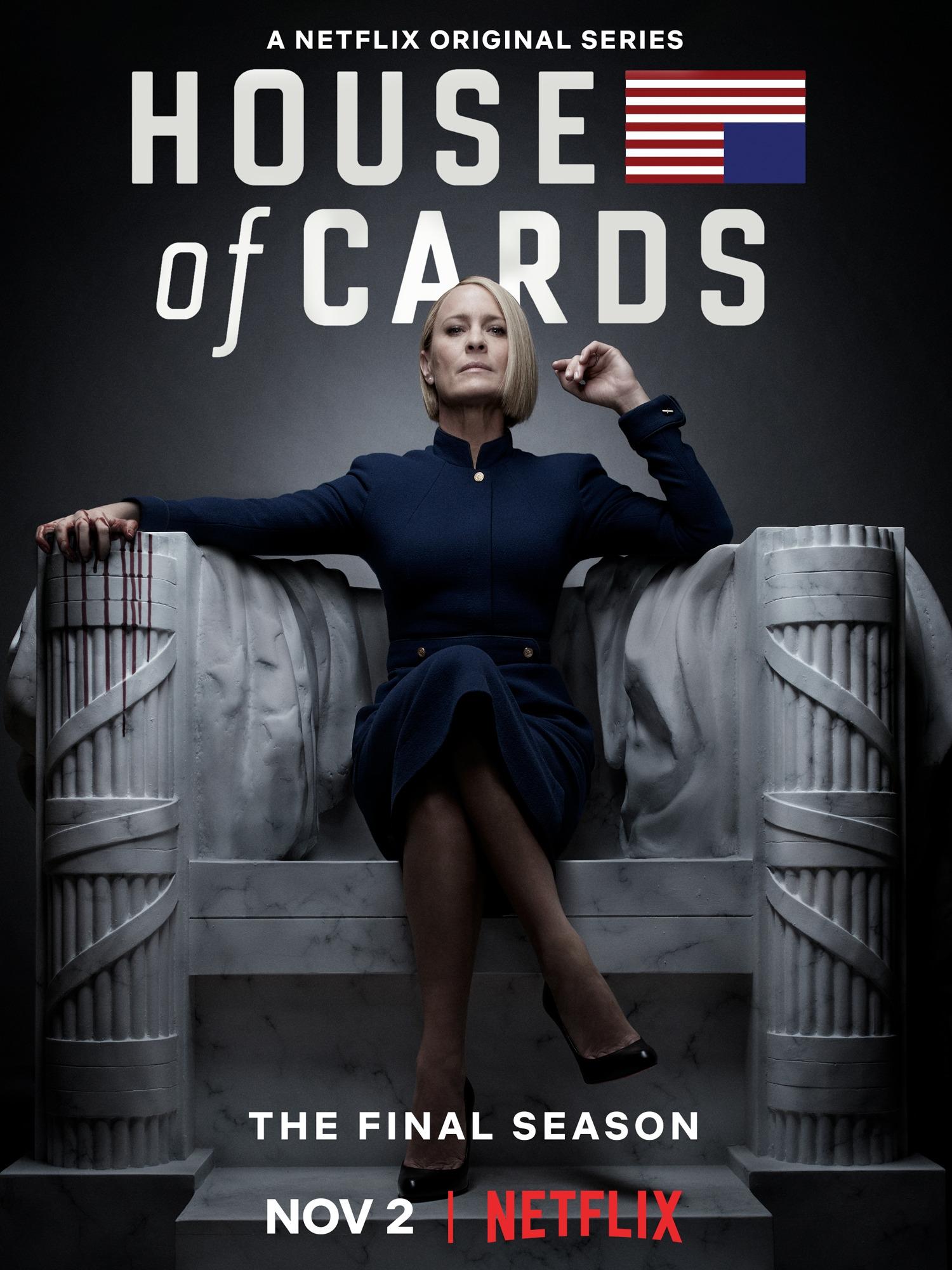 House of Cards, primeira produzida pela Netflix
