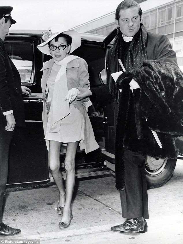 última foto de Judy Garland