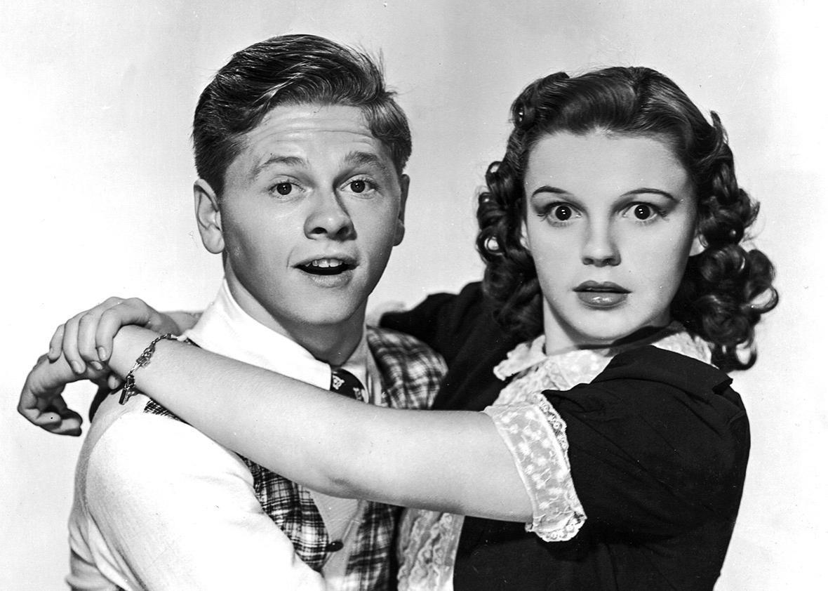 Judy e Mickey Rooney juntos