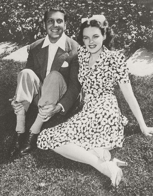 Judy e David Rose juntos