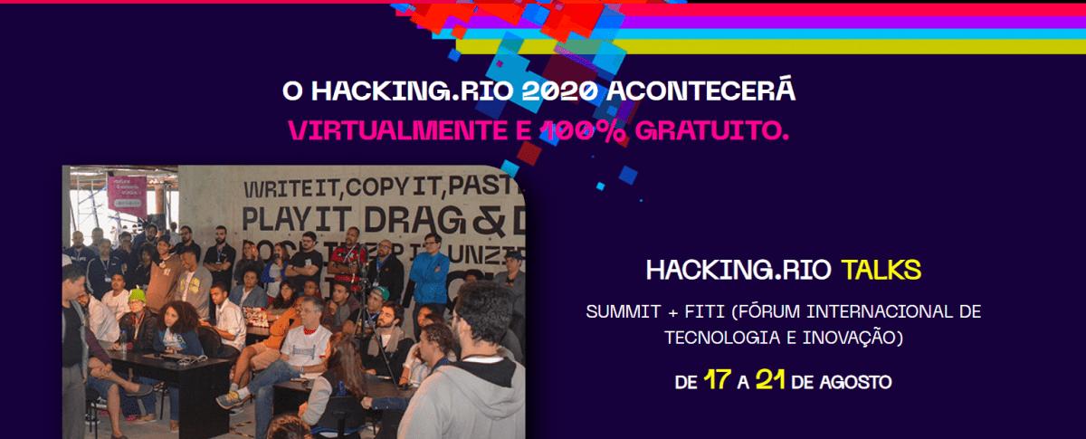 Hacking.Rio Talks: Evento gratuito reunirá mais de 130 líderes globais