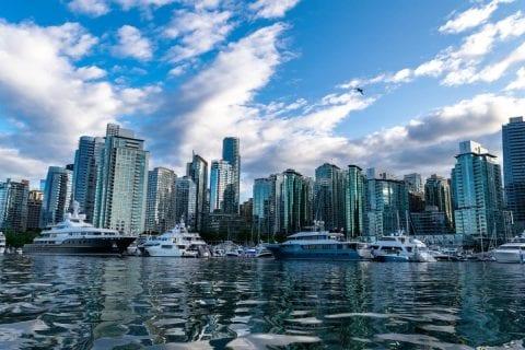 skyline de Vancouver