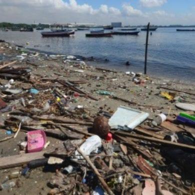 limpeza da Baía de Guanabara