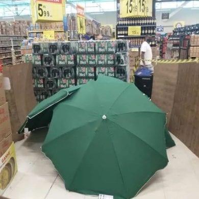 Funcionário morre em supermercado