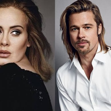 Adele e Brad Pitt estão vivendo um início de romance, diz fontes. FOTO: https://portalpopline.com.br/adele-e-brad-pitt-estao-se-conhecendo-melhor-diz-revista/