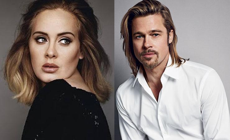 Brad Pitt e Adele podem ser próximo casal de famosos