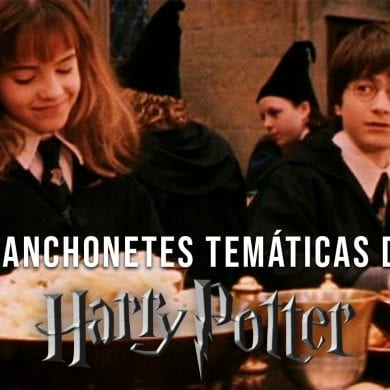 lanchonetes temáticas de Harry Potter