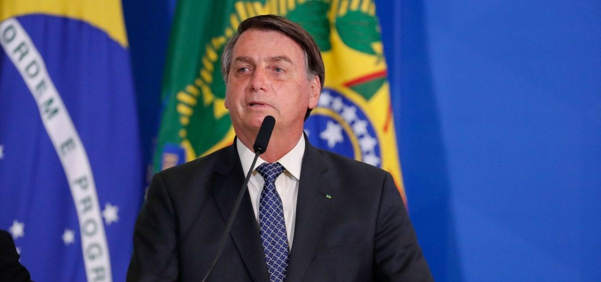 'Bundão', diz Bolsonaro sobre os jornalistas no Palácio da Alvorada