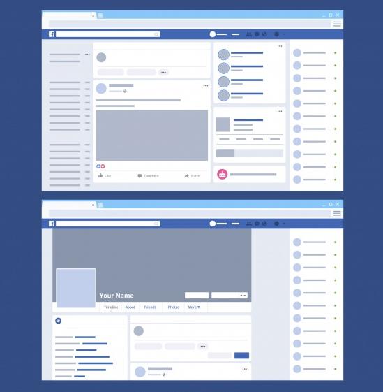 Facebook mudanças
