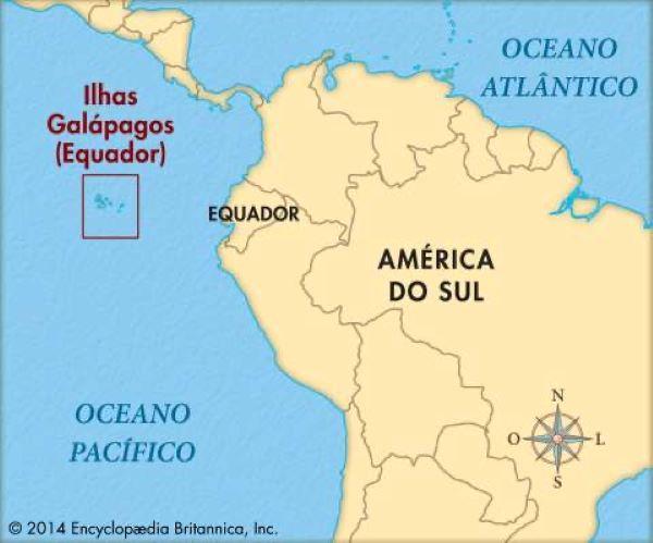 ilhas galápagos localização