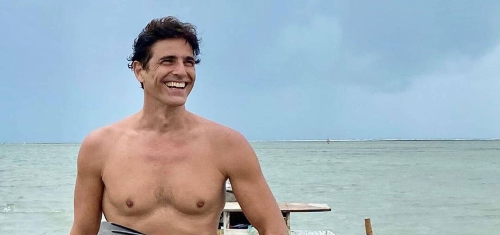 """Reynaldo Gianecchini nega ser gay. """"Me considero tudo ao mesmo tempo"""". FOTO: Reprodução / Instagram"""