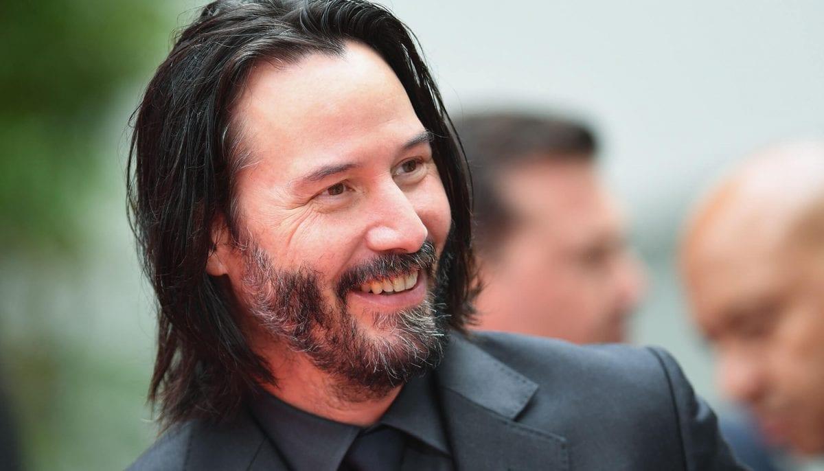Keanu Reeves escreve HQ e arrecada mais de U$300 mil em financiamento