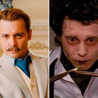 filmes de Johnny Depp