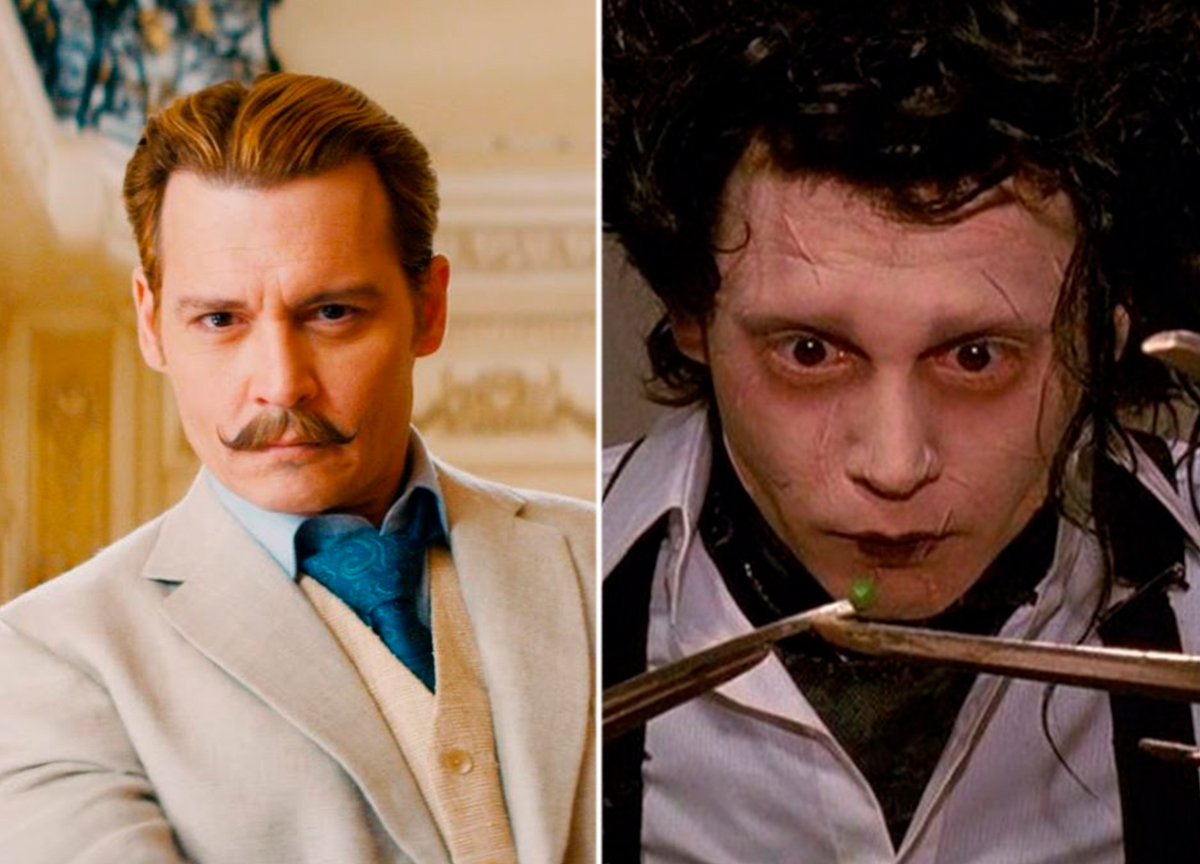5 filmes do ator Johnny Depp para além de 'Piratas do Caribe'