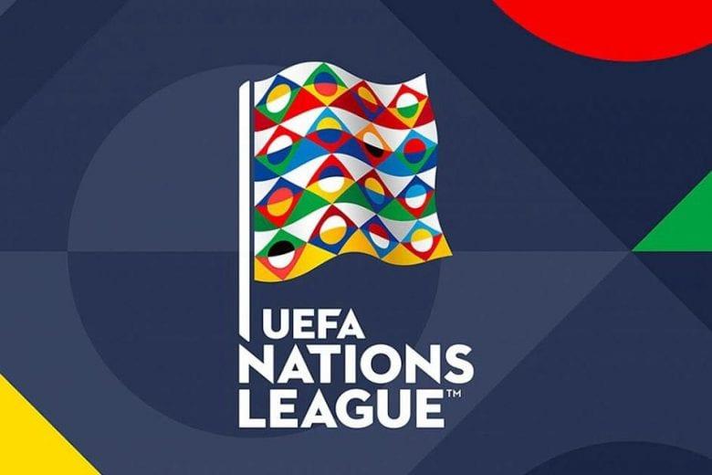 Logo oficial da Liga das Nações da UEFA