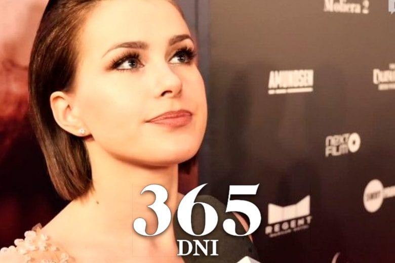 atriz de 365 Dni